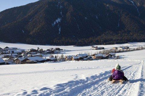 Divertimento invernale lontano dalle piste