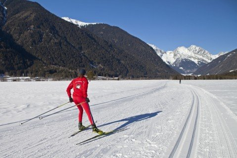 Das Wintersportzentrum Biathlon Antholz